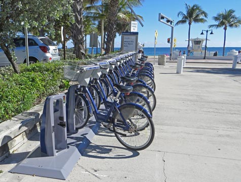 Bicycle Rentals in Fort Lauderdale