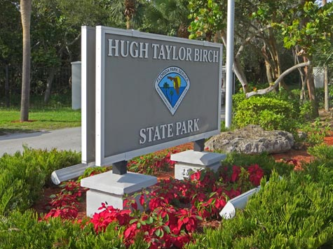 Hugh Taylor Birch State Park, Fort Lauderdale Beach