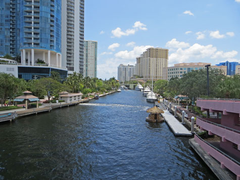 New River in Fort Lauderdale Florida